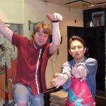 Mark and I Posing
