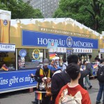 The Hofbrau Muchen Stand