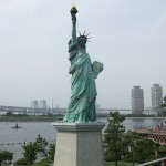A Replica Statue of Liberty