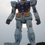 Giant Gundam - Fire Crotch
