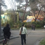 View from outside the Ghibli Museum